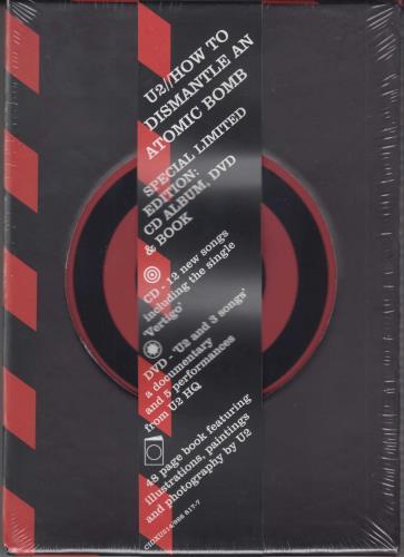 U2 How To Dismantle An Atomic Bomb - Sealed 2-disc CD/DVD set UK U-22DHO310179