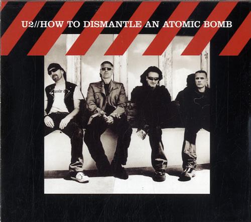 U2 How To Dismantle An Atomic Bomb 2-disc CD/DVD set UK U-22DHO307953