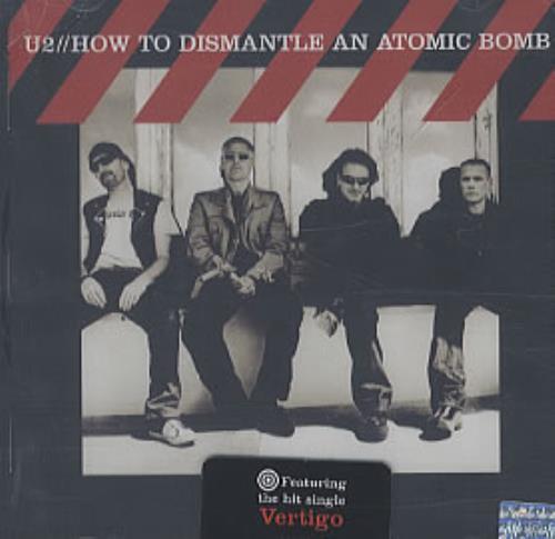 U2 How To Dismantle An Atomic Bomb CD album (CDLP) Argentinean U-2CDHO315364