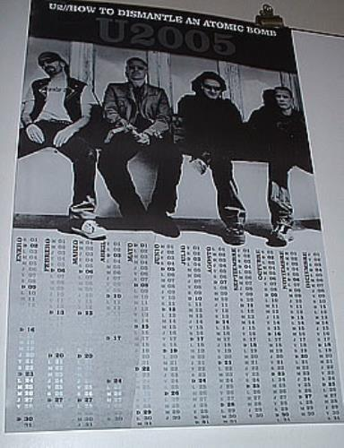 U2 How To Dismantle An Atomic Bomb poster Mexican U-2POHO316287