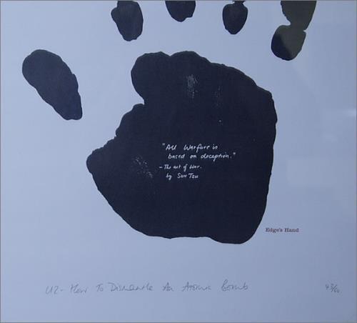 U2 How To Dismantle An Atomic Bomb memorabilia UK U-2MMHO520070