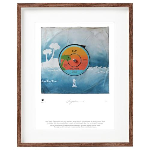 U2 I Will Follow - SUperSizeArt Numbered Print artwork UK U-2ARIW731121
