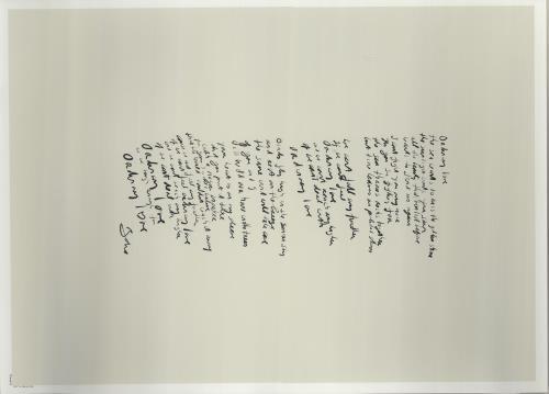 U2 Innocence + Experience - Fanclub Serigraphs poster UK U-2POIN658795