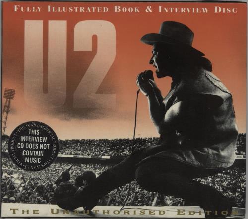 U2 Interview Disc & Illustrated Book CD album (CDLP) UK U-2CDIN61833