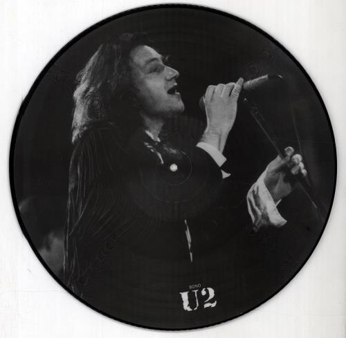 U2 Interview Picture Disc - Mispress picture disc LP (vinyl picture disc album) UK U-2PDIN676347