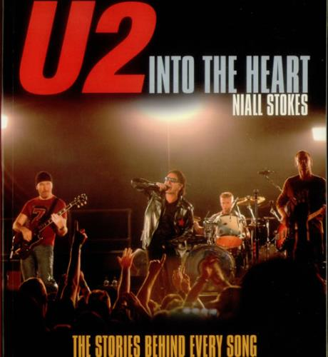 U2 Into The Heart book UK U-2BKIN545938