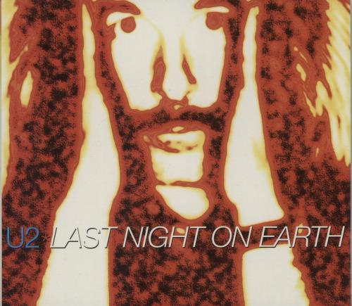 U2 Last Night On Earth + Digi 2-CD single set (Double CD single) UK U-22SLA151074