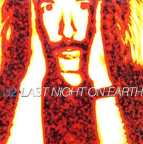 "U2 Last Night On Earth CD single (CD5 / 5"") French U-2C5LA340693"