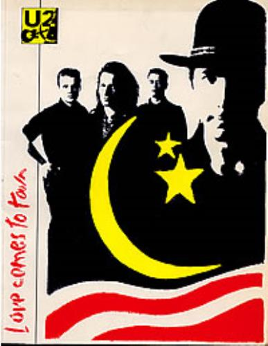 U2 Love Comes To Town tour programme UK U-2TRLO268195