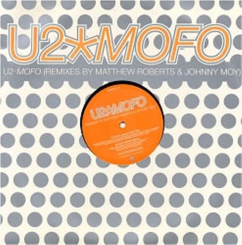 "U2 Mofo (Remixes by Matthew Roberts & Johnny Moy) 12"" vinyl single (12 inch record / Maxi-single) UK U-212MO98642"