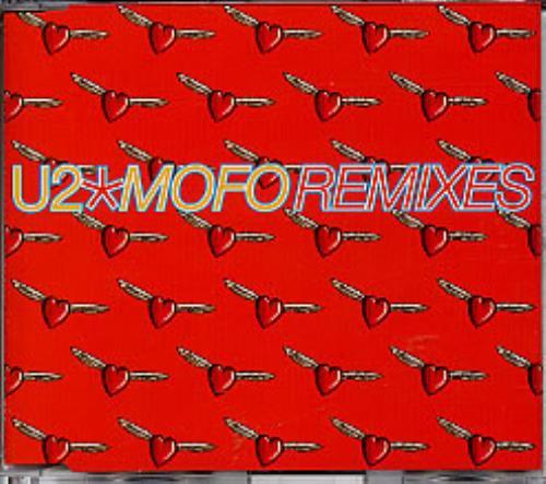 "U2 Mofo Remixes CD single (CD5 / 5"") UK U-2C5MO107368"