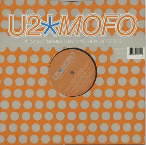 "U2 Mofo 12"" vinyl single (12 inch record / Maxi-single) UK U-212MO114472"