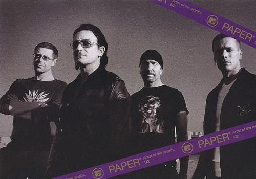 U2 MTV Paper magazine Japanese U-2MAMT384416