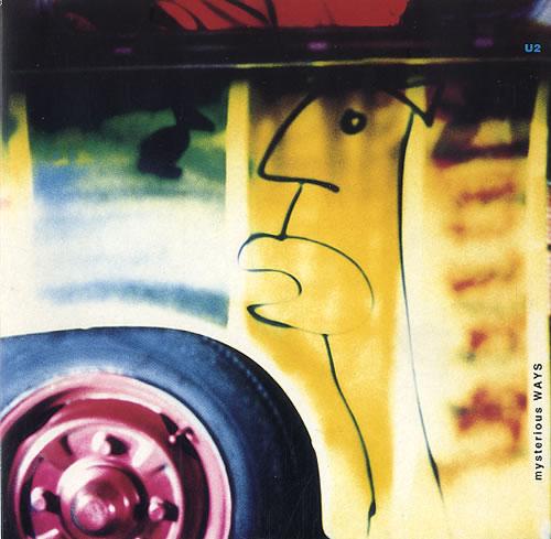 "U2 Mysterious Ways 7"" vinyl single (7 inch record) UK U-207MY32306"