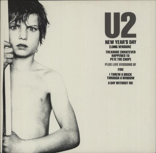 "U2 New Year's Day - p/s 12"" vinyl single (12 inch record / Maxi-single) UK U-212NE679576"