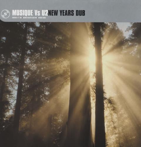 """U2 New Years Dub 12"""" vinyl single (12 inch record / Maxi-single) UK U-212NE185667"""