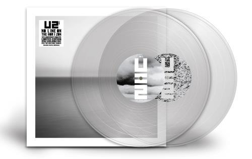 U2 No Line On The Horizon - 180gm Ultra-Clear Vinyl 2-LP vinyl record set (Double Album) UK U-22LNO714883