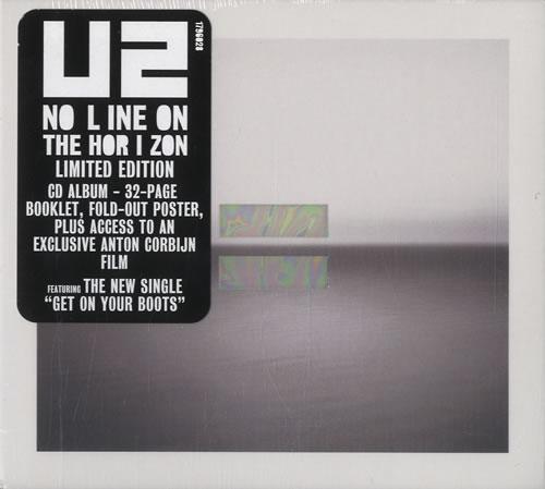 U2 No Line On The Horizon CD album (CDLP) UK U-2CDNO459685