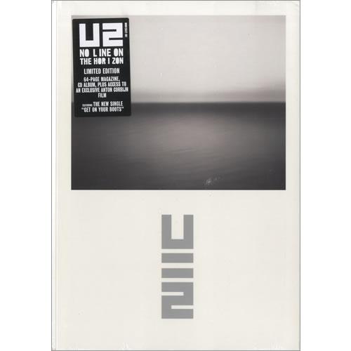 U2 No Line On The Horizon CD album (CDLP) US U-2CDNO493671