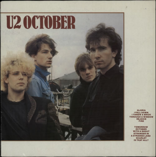 U2 October - 7 European Issues vinyl LP album (LP record) UK U-2LPOC602608