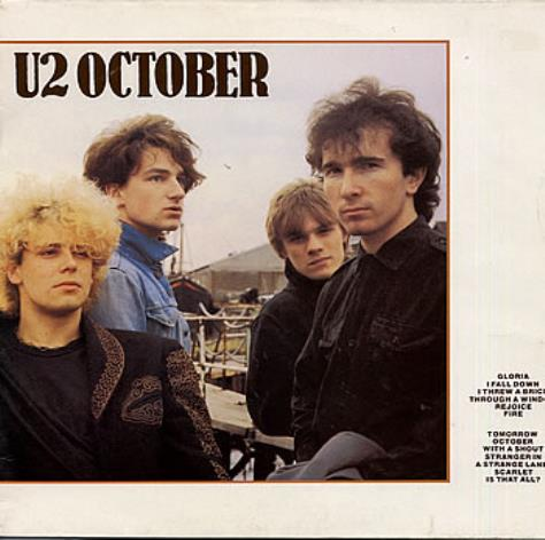 U2 October vinyl LP album (LP record) UK U-2LPOC109329