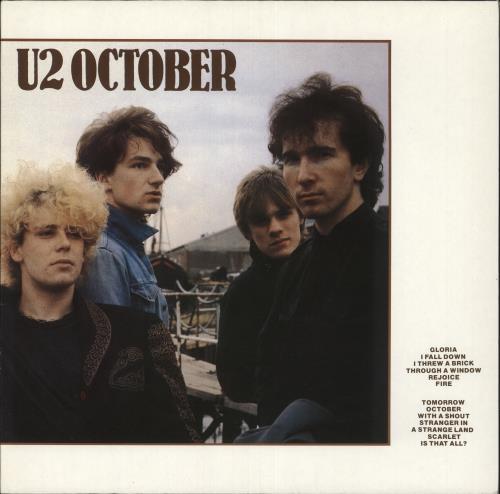 U2 October vinyl LP album (LP record) German U-2LPOC742137