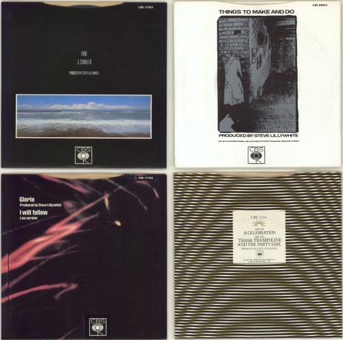 "U2 Pac II - 4 x 7"" singles - No PVC wallet 7"" vinyl single (7 inch record) Irish U-207PA771612"