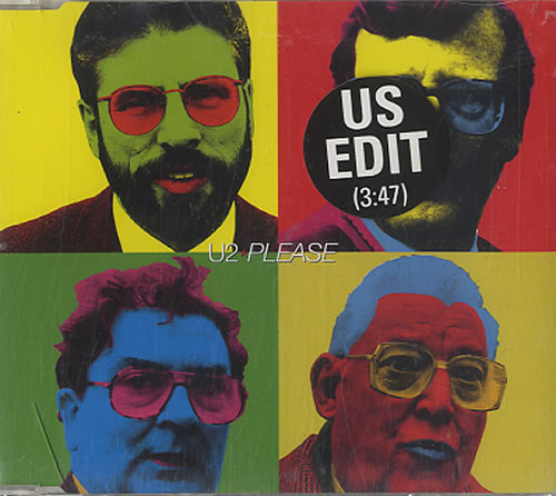 "U2 Please - USA Edit CD single (CD5 / 5"") UK U-2C5PL97483"