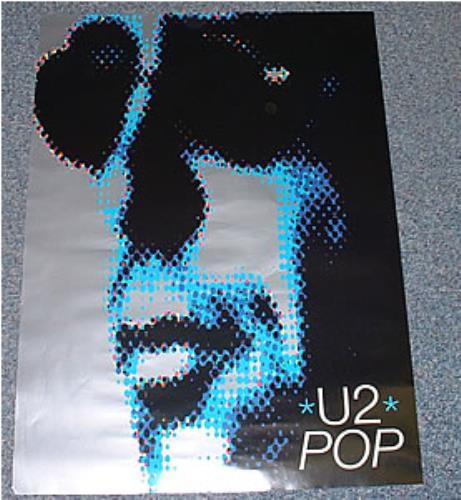 U2 Pop - Adam Clayton poster UK U-2POPO243727