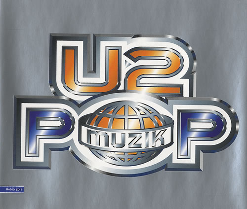"U2 Pop Muzik CD single (CD5 / 5"") UK U-2C5PO91538"