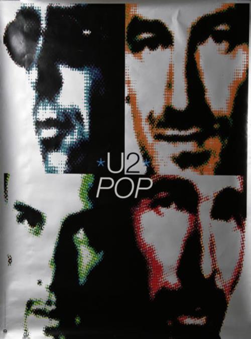 U2 Pop poster US U-2POPO478345