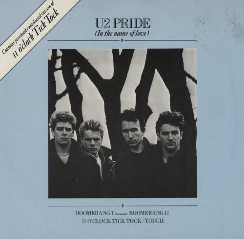 "U2 Pride (In The Name Of Love) - EX 12"" vinyl single (12 inch record / Maxi-single) UK U-212PR743384"