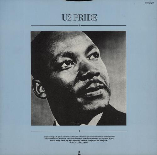 "U2 Pride (In The Name Of Love) 12"" vinyl single (12 inch record / Maxi-single) UK U-212PR02685"
