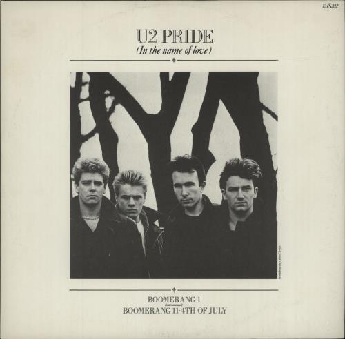 "U2 Pride 12"" vinyl single (12 inch record / Maxi-single) UK U-212PR06992"