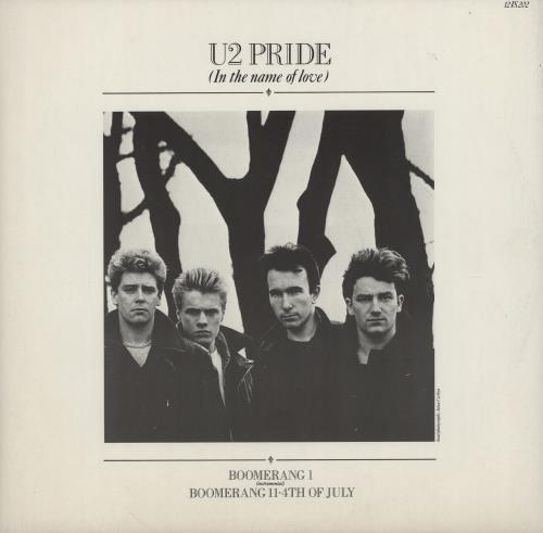 "U2 Pride 12"" vinyl single (12 inch record / Maxi-single) UK U-212PR753016"