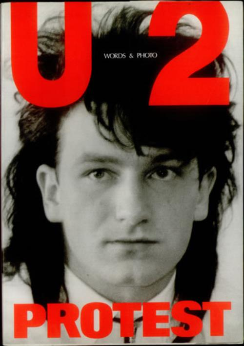 U2 Protest Japanese book (540274) SONGBOOK