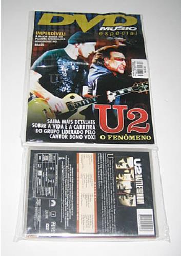 U2 Rattle And Hum + DVD Music Especial Magazine DVD Brazilian U-2DDRA352802