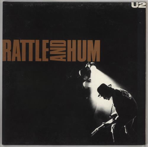 U2 Rattle And Hum - EX 2-LP vinyl record set (Double Album) UK U-22LRA308212