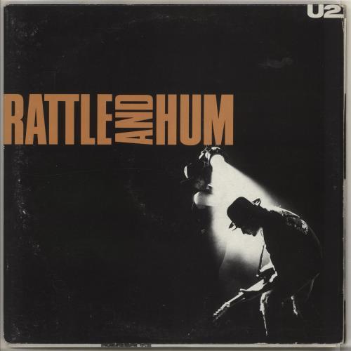 U2 Rattle And Hum 2-LP vinyl record set (Double Album) Italian U-22LRA726838