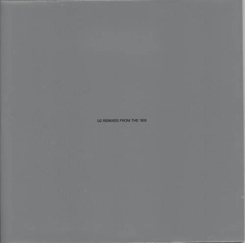 "U2 Remixes From The '90s 12"" vinyl single (12 inch record / Maxi-single) UK U-212RE224982"