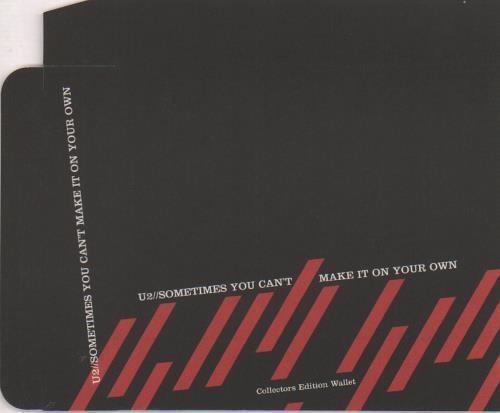 U2 Sometimes You Can't Make It On Your Own - Slipcase memorabilia UK U-2MMSO660576