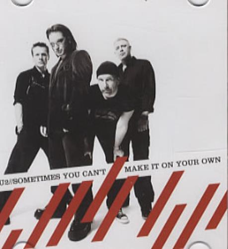 "U2 Sometimes You Can't Make It On Your Own 3"" CD single (CD3) German U-2C3SO323583"