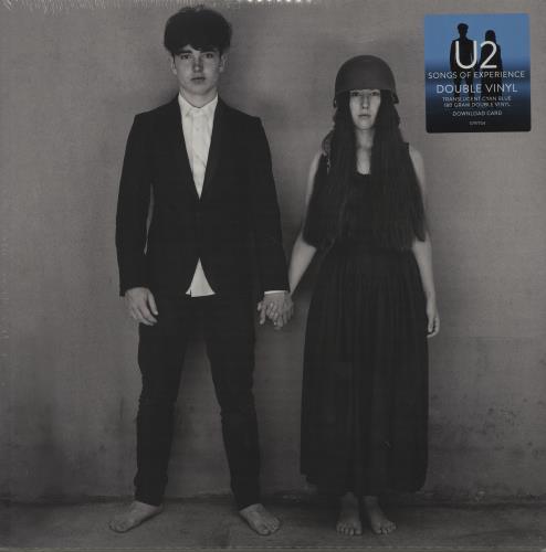U2 Songs Of Experience - 180gm - Cyan - Sealed 2-LP vinyl record set (Double Album) UK U-22LSO686081