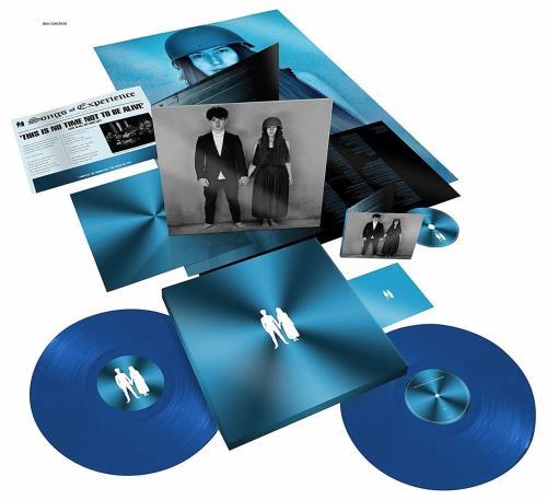 U2 Songs Of Experience - 180gm Blue + CD - Sealed Vinyl Box Set UK U-2VXSO686083