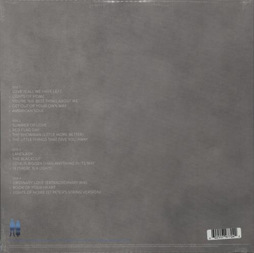 U2 Songs Of Experience - 180gm Cyan Blue Vinyl - Sealed 2-LP vinyl record set (Double Album) UK U-22LSO686081