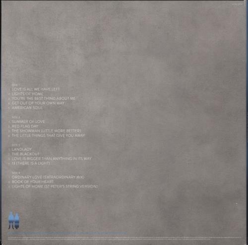 U2 Songs Of Experience - 180gm Cyan Vinyl 2-LP vinyl record set (Double Album) UK U-22LSO735664