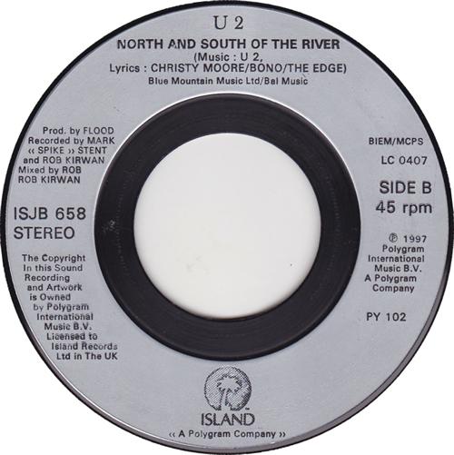 "U2 Staring At The Sun - Jukebox 7"" vinyl single (7 inch record) UK U-207ST114376"