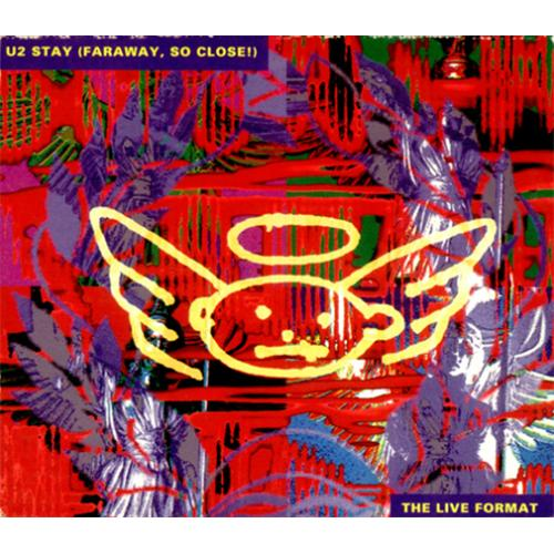 U2 Stay German 2-CD single set (Double CD single) (415646)