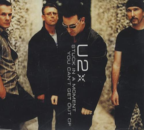 """U2 Stuck In A Moment You Can't Get Out Of CD single (CD5 / 5"""") UK U-2C5ST353463"""