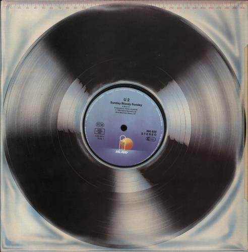"U2 Sunday Bloody Sunday 12"" vinyl single (12 inch record / Maxi-single) German U-212SU679580"